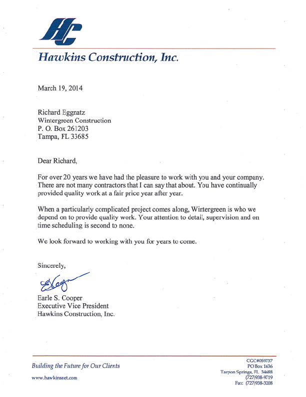 Fast Online Help Letter Of Intent In Construction